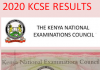 How to receive your 2020 KCSE results.