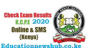 Download KNEC KCPE 2020 results; See procedure.