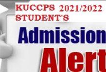 KUCCPS placement news 2021.