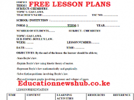 Free lesson plans for all subjects.