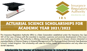 Actuarial Management scholarships