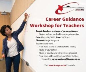 Kuccps workshop for teachers 2021.