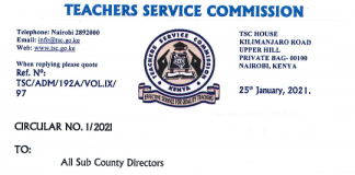 Knec contracted professionals 2021. Latest news.