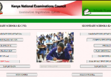 Knec school exams portal for KCSE and KCPE registration and results downloads