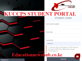 Kuccps student portal