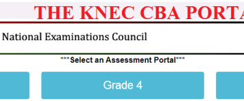 The KNEC CBA Portal Login
