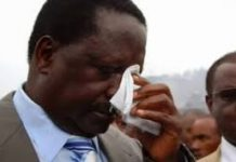 Raila Odinga tests positive for Covid-19.
