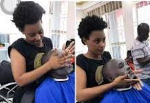 Top female barbers in Kenya.