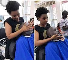 Top female barbers in Kenya.