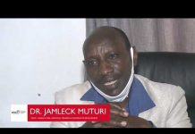 New TSC Chairperson Dr Jamleck Muturi John