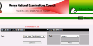 KCSE 2021 registration of candidates. Here is your simplified guide.