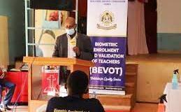 TSC Bio-metric Enrollment and Validation (BEVOT) for all teachers.