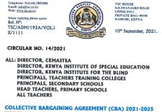 TSC CBA 2021-2025